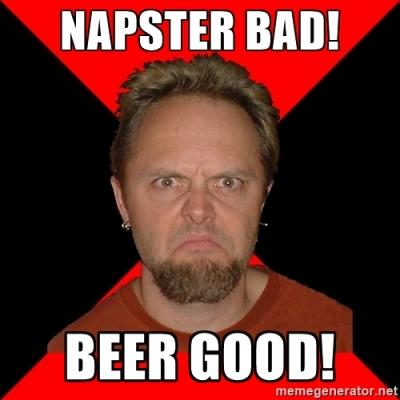 Napster Bad Beer Good